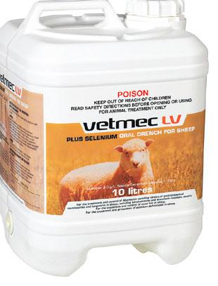 Vetmec LV Plus Selenium 10L